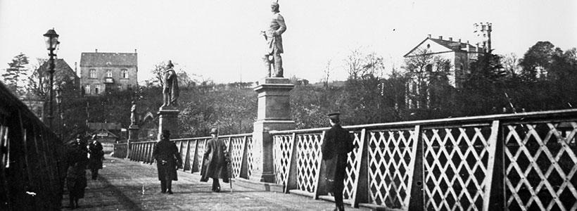 Königsbrücke, bis 1932 in Betrieb
