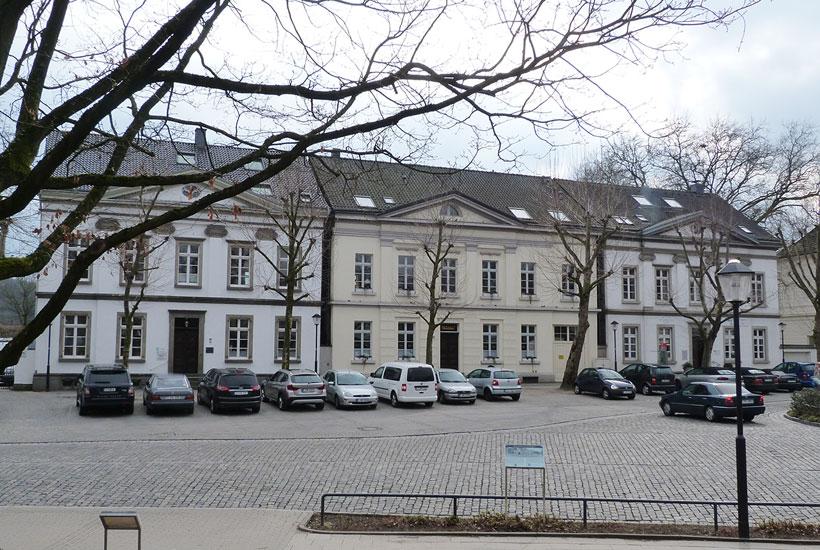 Bürgerhäuser am Markt in Kettwig