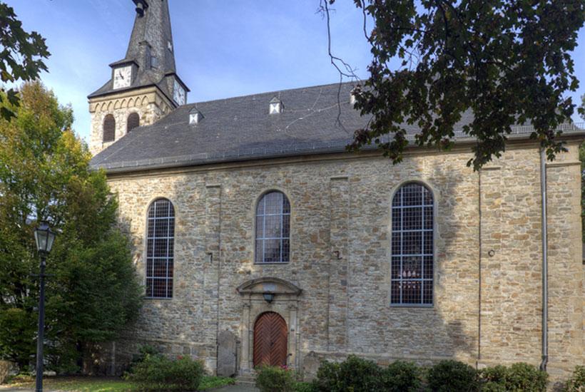 Ansicht der Kirche