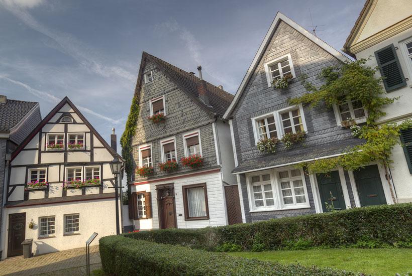Häuser am Kirchhöfnerring