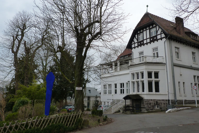 Alte Villa am Bögelsknappen in Kettwig