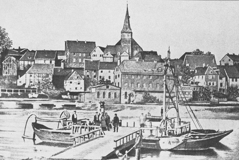 Historische Ruhrfähre