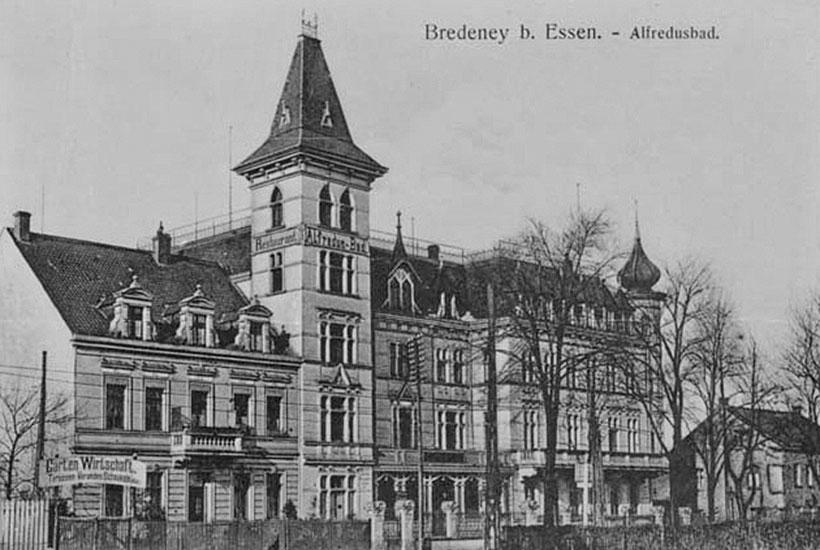 Kurhaus Alfredusbad um 1901