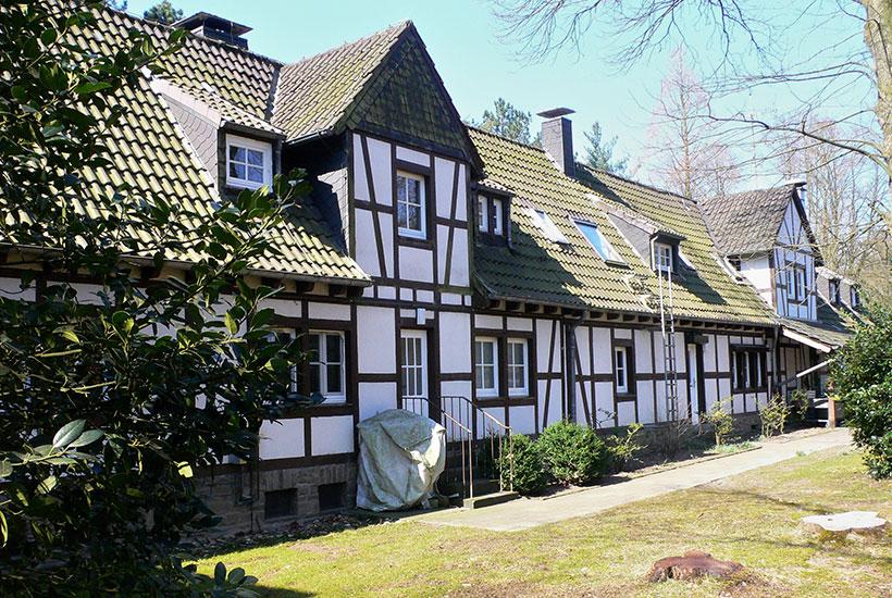Haus Baldeney 42 – Emil-Frick-Haus Rückfront