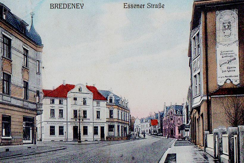 27-1: Bredeneyer Kreuz um 1915