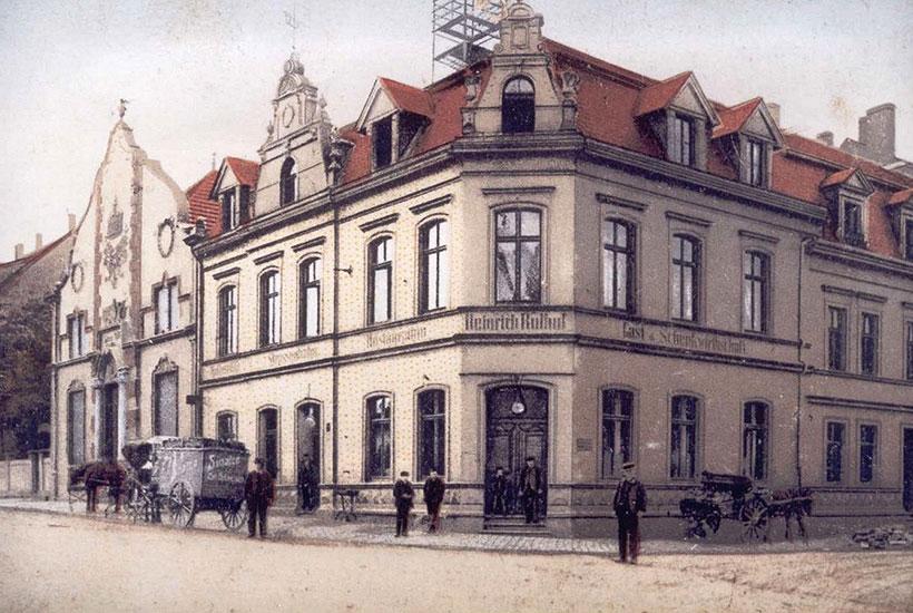 27-5: Gaststätte Rulhof um 1900