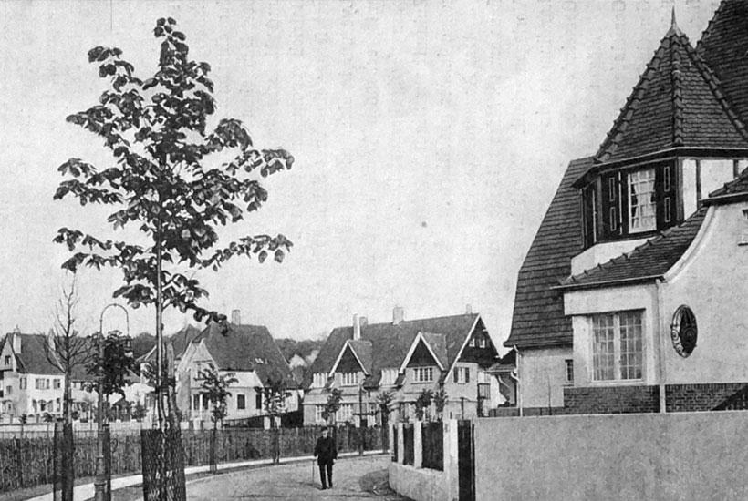 9-2: Conradsche Colonie um 1915