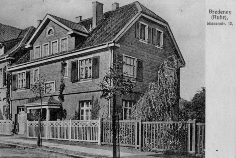 Haus Am Wiesental 12 um 1910