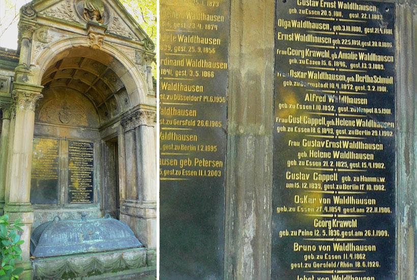 20-3: Mausoleum der Brüder Julius Wilhelm und Gustav Ernst von Waldthausen