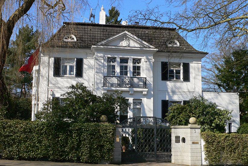 25-2: Frühere Villa Waldthausen, Markuspfad 3