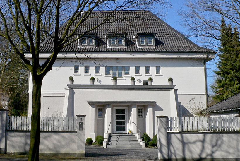 25-4: Früheres Wohnhaus Kern, Hohe Buchen 12