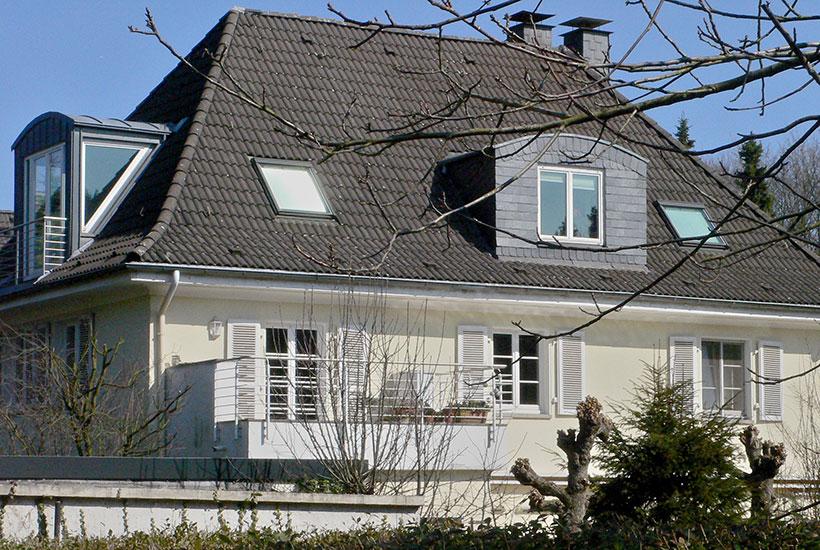 25-5: Früheres Wohnhaus Alfred Fischer, Hohe Buchen 5