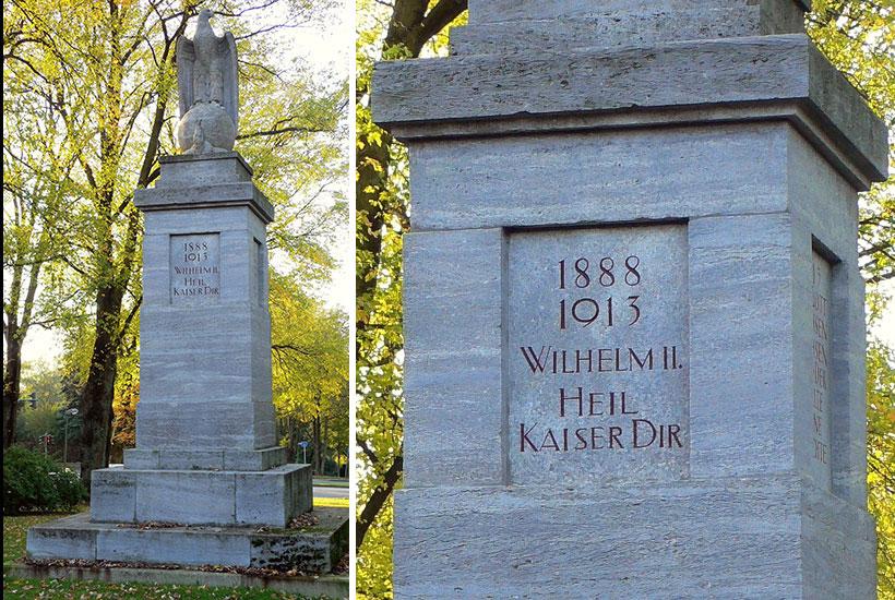 26-1: Jahrhundertdenkmal an der Graf-Adolf-Straße