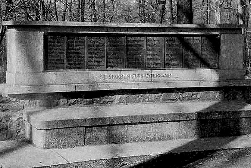 26-4: Gedenktafel für die Gefallenen des Ersten Weltkrieges 1925
