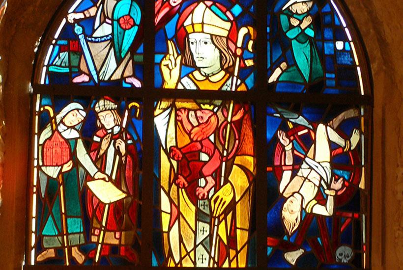 6-2: Spitzbogenfenster (Ausschnitt)