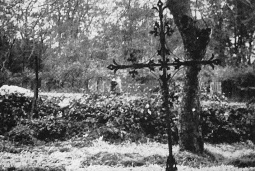 10-4: Schmiedeeisernes Markuskreuz vor 1962