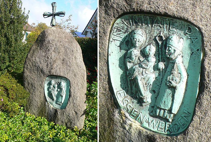10-5: Heutiger Gedenkstein Markuskapelle