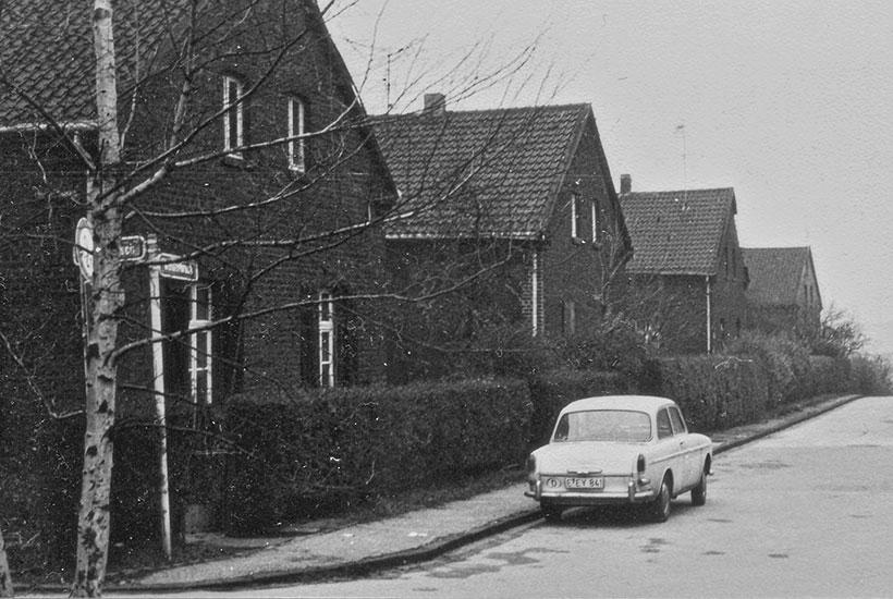 23-2: Häuser der Zechensiedlung Prumendorf