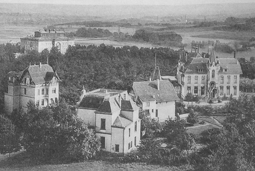 15-4: Villenkolonie Ruhrstein um 1905