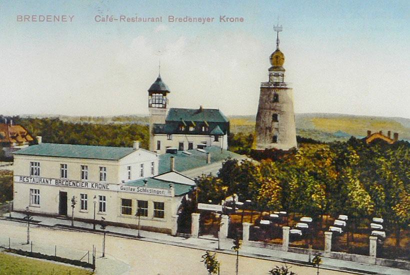 """15-5: Restaurant """"Bredeneyer Krone"""" 1912"""