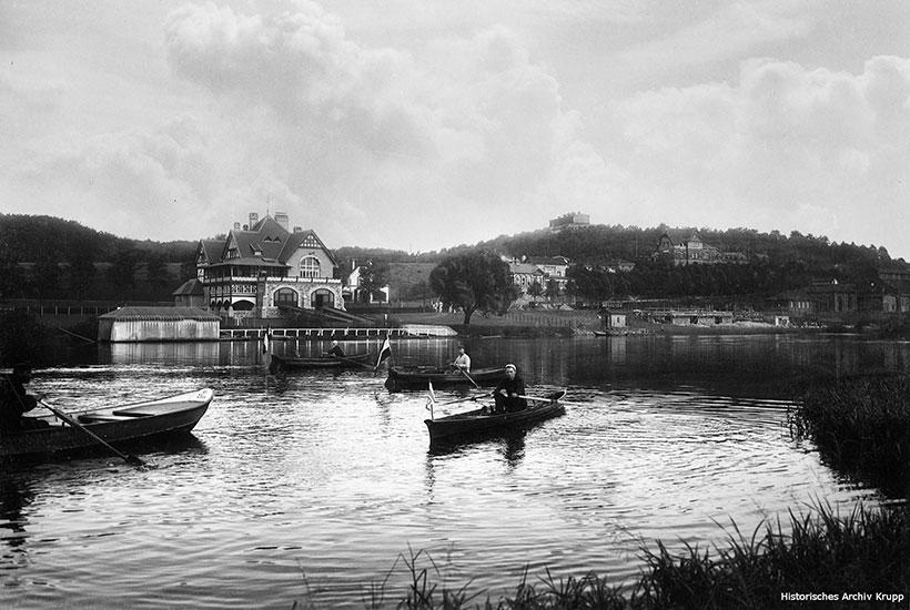 1-5: Bootshaus Hügel des ETUF 1899