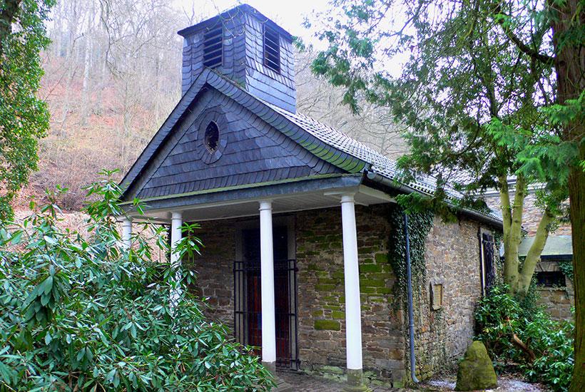 3-1: Kapelle des Schlosses Baldeney