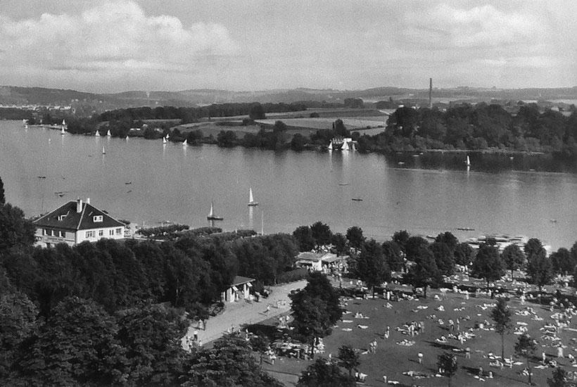 2-2: Freibad Baldeneysee 1950er-Jahre