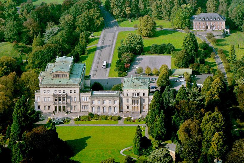 Luftbild Villa Hügel 2005