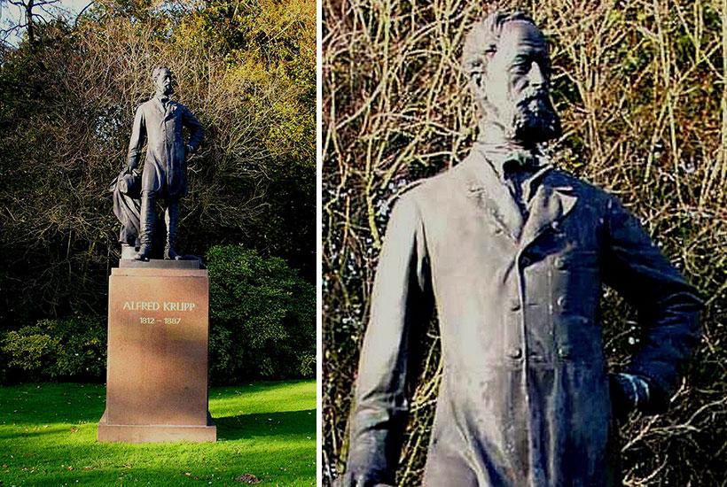 13-4: Denkmal Alfred Krupp im Hügelpark