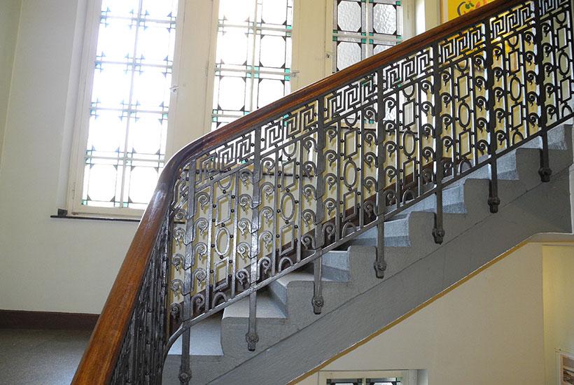 Treppenaufgang im Jugendstil
