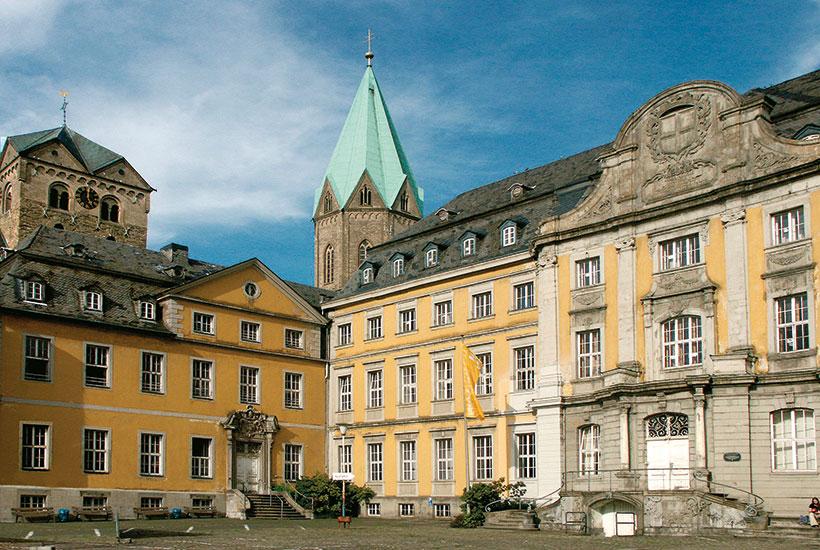 Ehemaliges Abteigebäude, heute Folkwang Universität der Künste