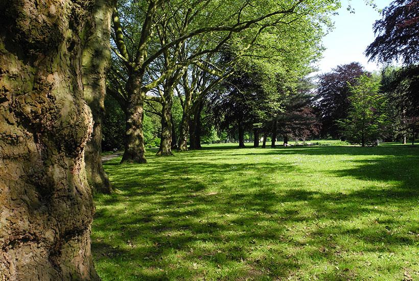 Stadtpark und Erholungsstätte