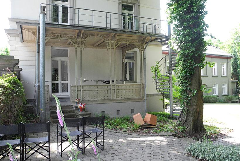 Bürgermeisterhaus mit Wintergarten