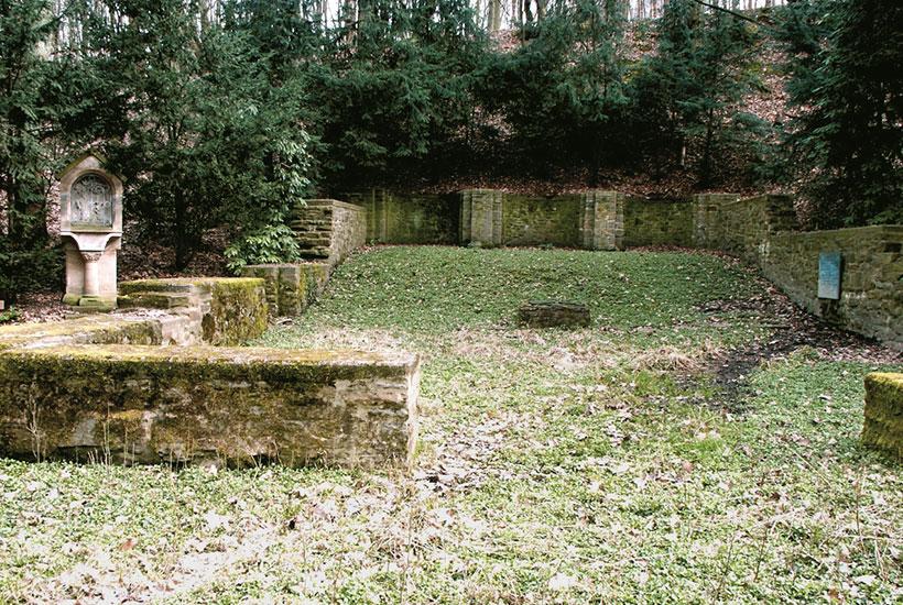 Grundmauern von St. Clemens