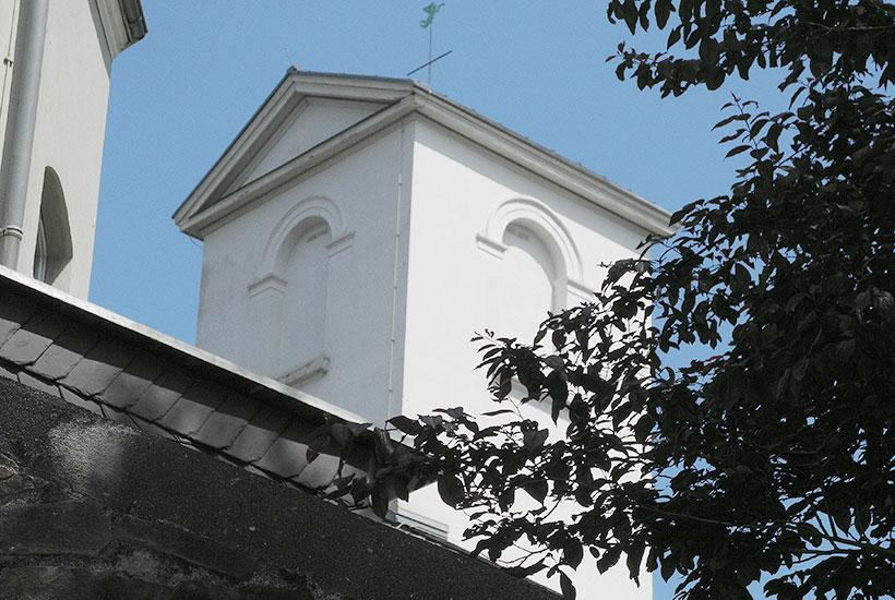 Turm der ehem. Kirche