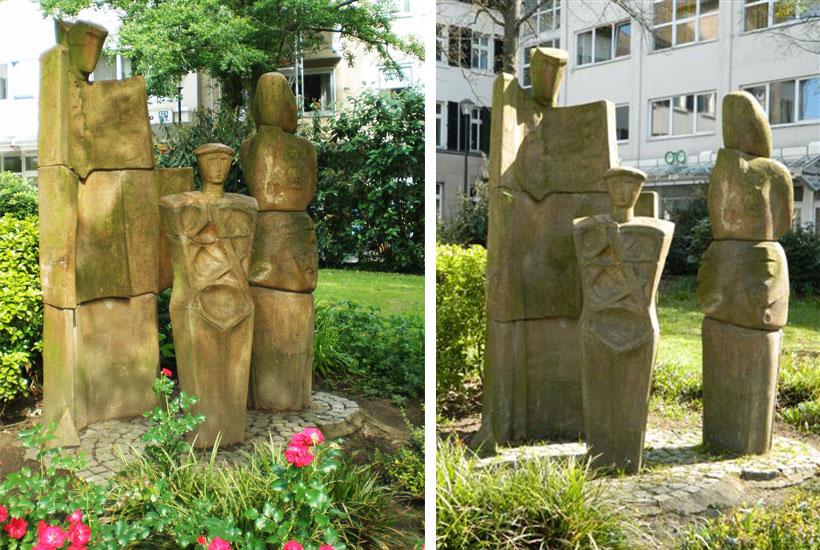 "Skulpturenpark – ""Die Familie"""