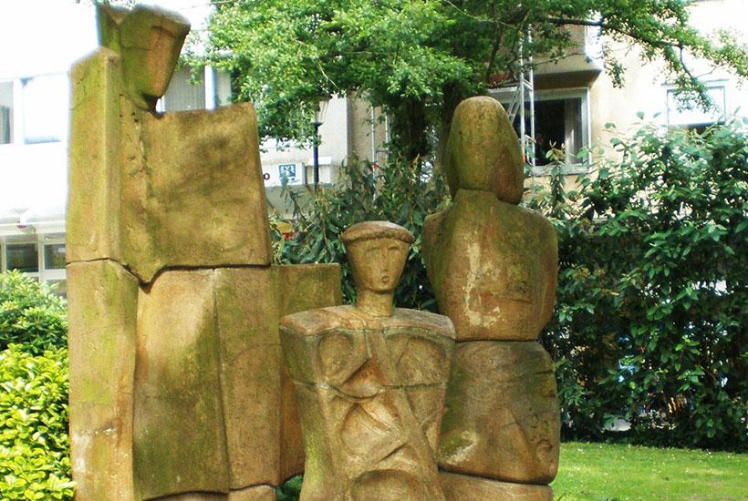 Kettwig Skulpturenpark Die Familie