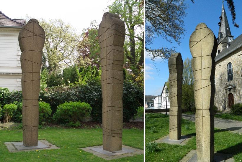 Skulpturenpark – MenschenZeichen