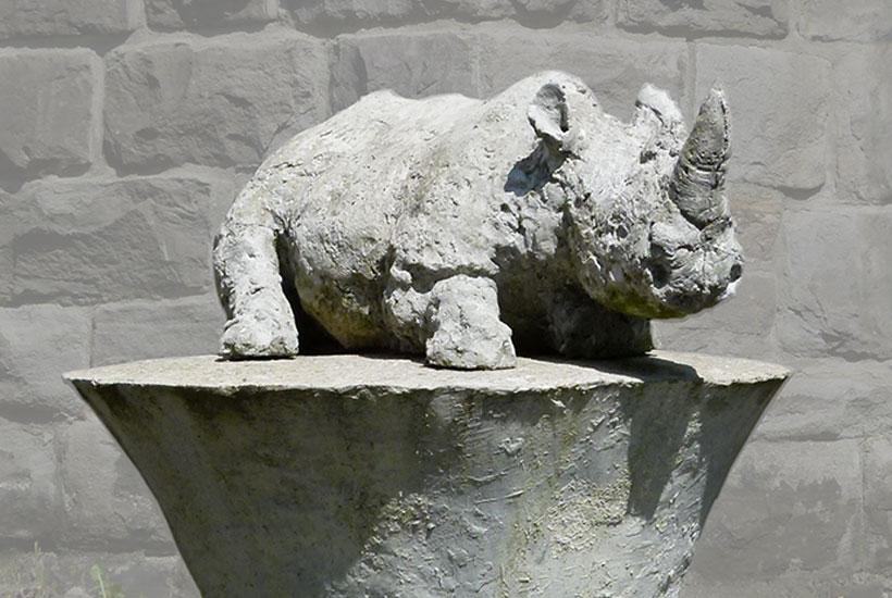 Skulpturenpark – Nashorn