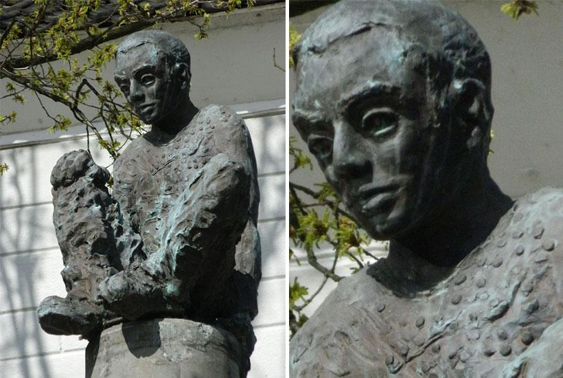 """Skulpturenpark – Der Märchenbrunnen """"Das tapfere Schneiderlein"""""""