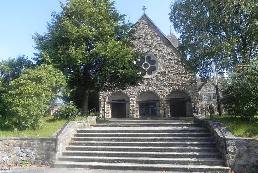 Die St. Barbara Kirche