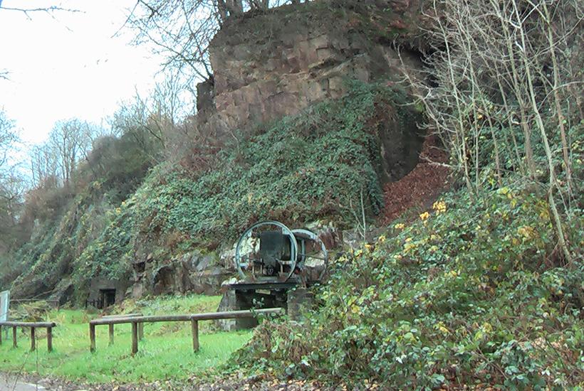 Geologische Wand